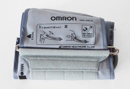 Manseta Omron Wide Cuff L (22-42 cm) HEM-RML30 pentru tensiometrele compatibile [4]