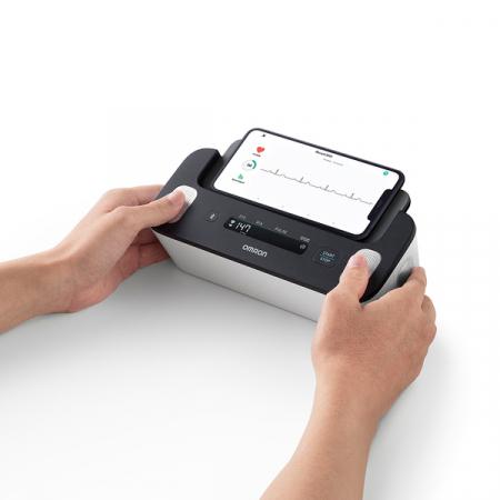 Omron Complete - Tensiometru automat pentru brat + ECG, validat clinic, functie AFIB, fabricat in Japonia [5]