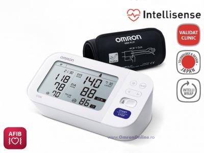 OMRON M6 Comfort (HEM-7360-E) - Tensiometru de brat, detectare fibrilatie atriala (Afib), manseta inteligenta Intelli Cuff, garantie 3 ani [0]