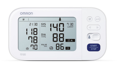 OMRON M6 Comfort (HEM-7360-E) - Tensiometru de brat, detectare fibrilatie atriala (Afib), manseta inteligenta Intelli Cuff, garantie 3 ani [3]