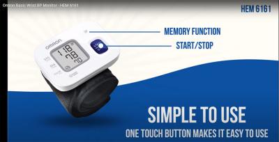 OMRON RS2 - Tensiometru de incheietura, validat clinic [2]