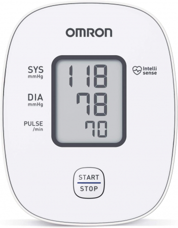 Tensiometru de brat Omron M2 Basic (HEM-7121-D), tehnologie Intellisense [2]