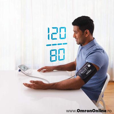 OMRON X4 Smart - Tensiometru de brat, manseta inteligenta Intelli Cuff, transfer date Omron Connect, validat clinic, garantie 3 ani [2]