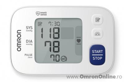 OMRON RS4 - Tensiometru de incheietura, validat clinic, indicator zona cardiaca [1]