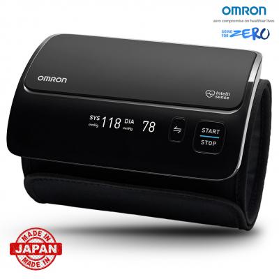 Tensiometru Omron EVOLV digital de brat, manseta inteligenta 22-42 cm, transfer date Bluetooth, fara cabluri, validat clinic, ecran OLED, fabricat in Japonia [0]