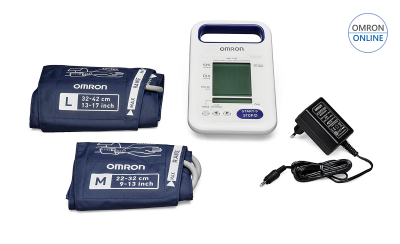 Tensiometru profesional portabil OMRON HBP-1320, cu acumulator, validat clinic [0]