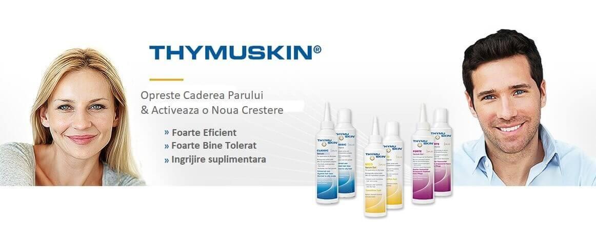 Descopera THYMUSKIN, tratamentul pentru parul tau!