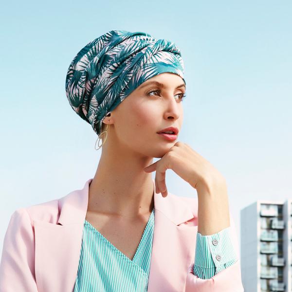 Emmy turban Palm Leaves, Viva Headwear 0