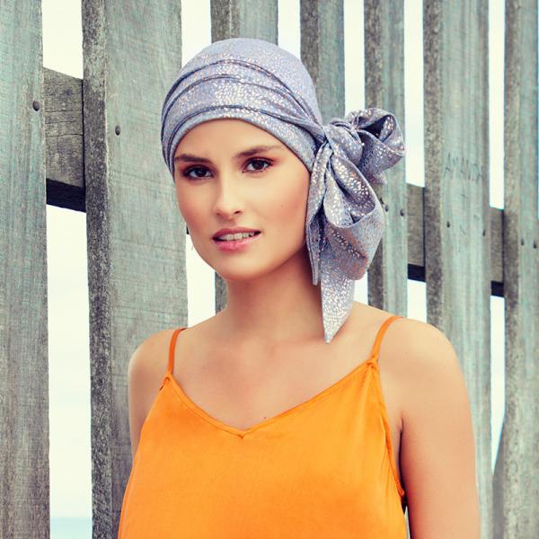 Esarfa pentru alopecia dupa chimioterapie