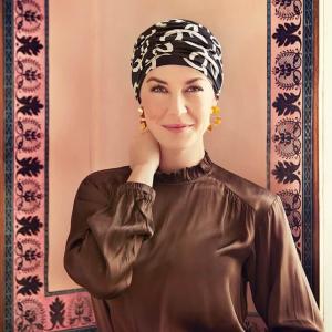 KARMA turban, Classic Bows, Christine Headwear, Onconect 0