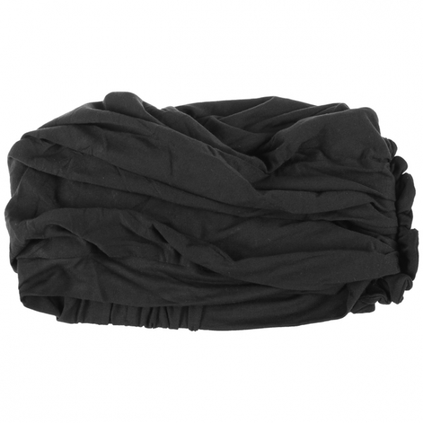 LOTUS turban, Black, Christine Headwear 3