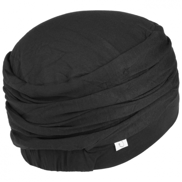LOTUS turban, Black, Christine Headwear 2