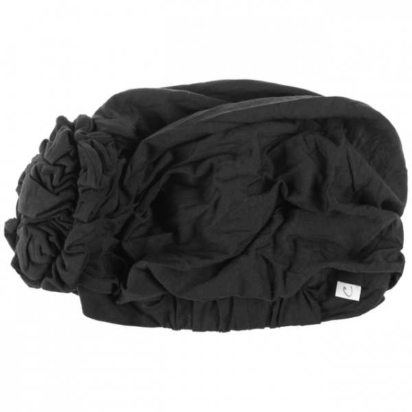 LOTUS turban, Black, Christine Headwear 4