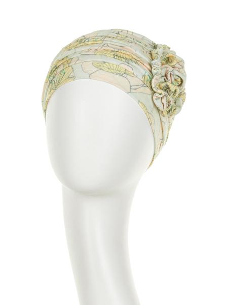 Lotus turban, Blooming season, Primavara/Vara, Christine Headwear 1