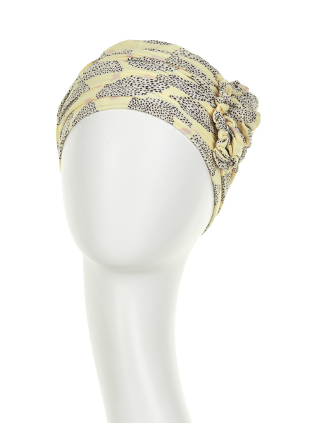 Lotus Summer Lemons - Christine Headwear 1