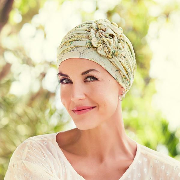 Lotus turban, Blooming season, Primavara/Vara, Christine Headwear 0