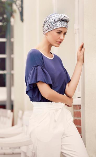 Mantra esarfa cu panglici lungi, Kaleidoscope, Christine Headwear Onconect 0