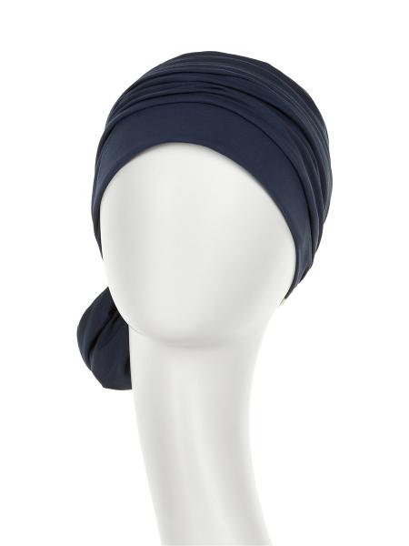 Mila Turban, Black Iris, Christine Headwear 1