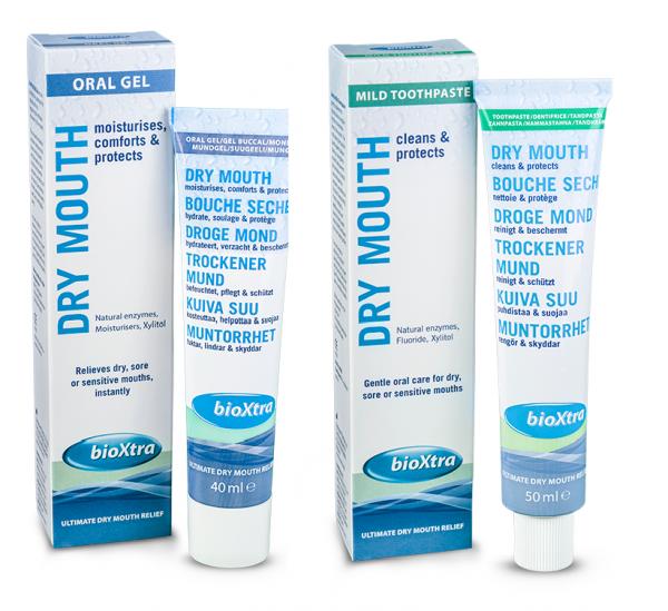 bioXtra Curatare si Calmare Gura uscata - Pasta de dinti si Gel oral 0