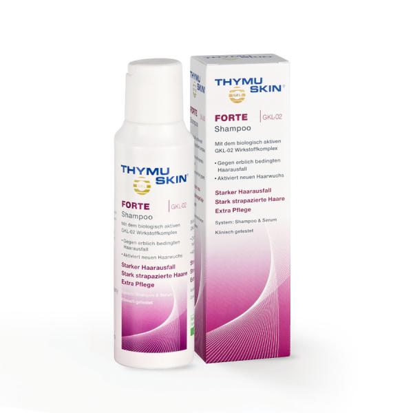 THYMUSKIN FORTE Sampon tratament caderea masiva a parului 0