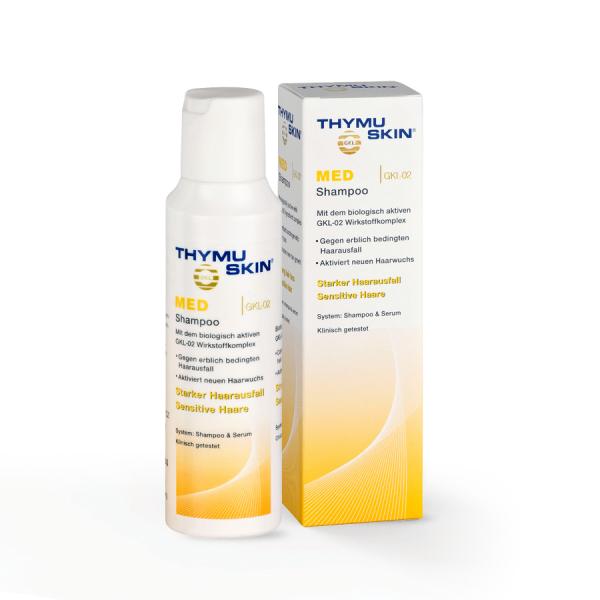 THYMUSKIN MED Sampon, Tratament Caderea moderata si regenerare, Alopecie difuza si areata 0