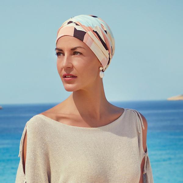 Shakti turban chimioterapie Square&Angels, Christine Headwear 0
