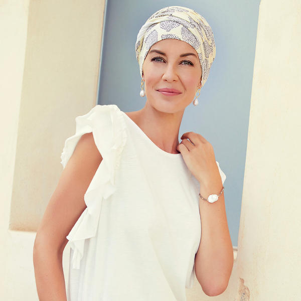 Shakti turban chimioterapie Summer lemons, Christine Headwear 0