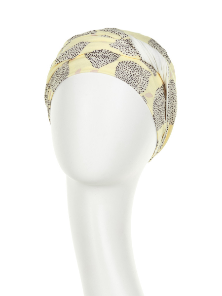 Shakti turban chimioterapie Summer lemons, Christine Headwear 1