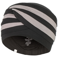 Shanti turban - Black/Brown, Christine Headwear 1