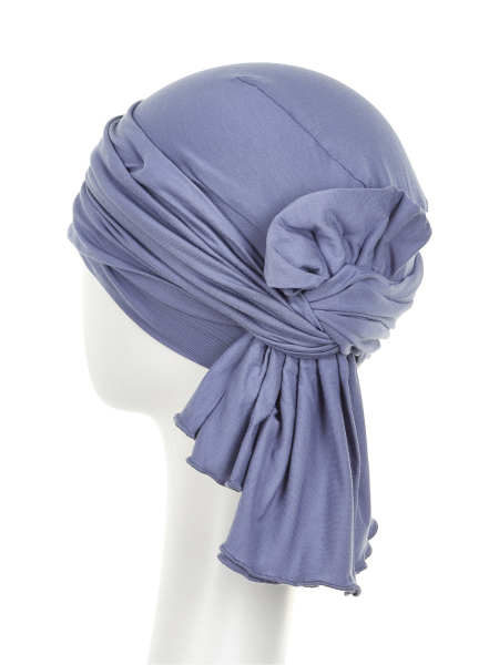 Tula turban, Light Lilac, Christine Headwear 2