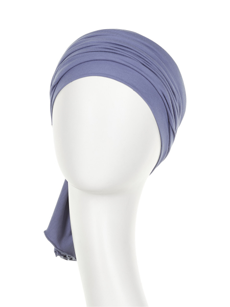 Tula turban, Light Lilac, Christine Headwear 1