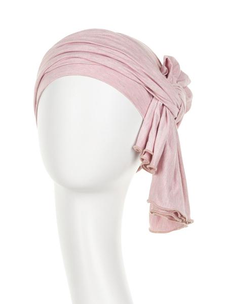 Tula turban, Rose melange, Christine Headwear 2