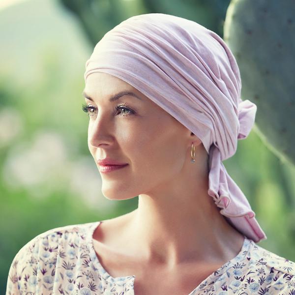 Tula turban, Rose melange, Christine Headwear 0