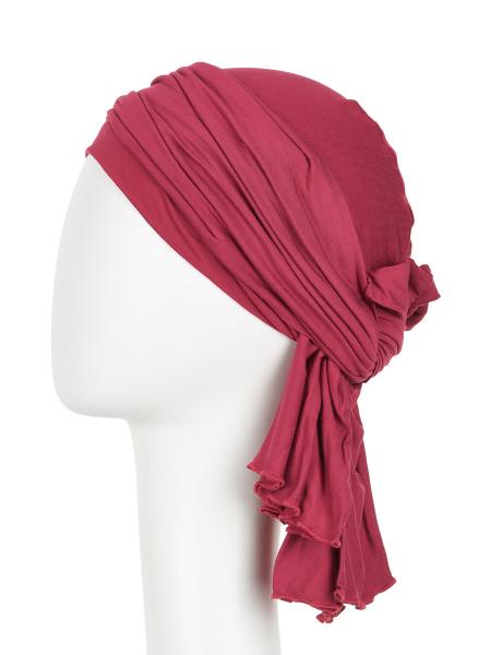 Tula turban, Red Bud, Christine Headwear 3