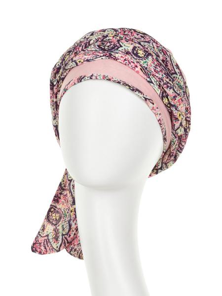 Turban Set Boho Spirit Sapphire, Maroccan vibes, Christine Headwear 1
