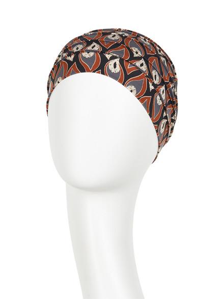 Yoga Turban Peacock Feather Christine Headwear 1