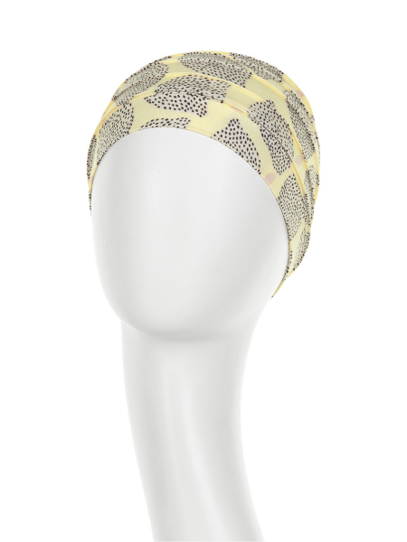 Yoga Turban Summer Lemons Onconect 1