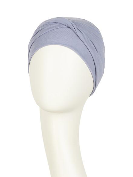 Zoya Turban Lavender Grey 1