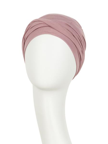 Zoya Turban Woodrose Viva Headwear 1