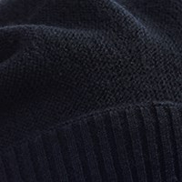 Ivy turban impletit - Black, bumbac si vascoza din bambus, Toamna/Iarna2