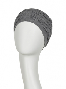 Karma turban cu bentita, Grey melange1