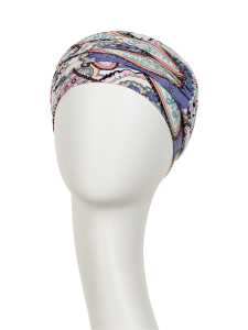 KARMA turban cu bentita - Kaleidoscope, vascoza din bambus, Primavara/Vara1