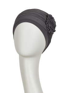 LOTUS turban, Grey/Brown1