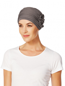 LOTUS turban, Grey/Brown0