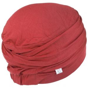 LOTUS turban, Red, Vascoza din bambus, Primavara/Vara2