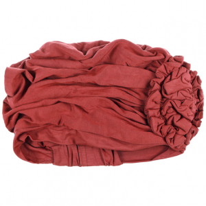 LOTUS turban, Red, Vascoza din bambus, Primavara/Vara3