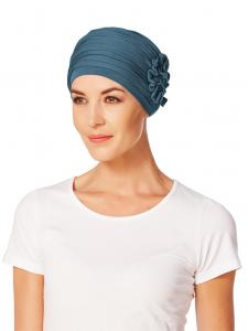 LOTUS turban, Ocean Blue0