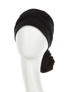 Mila turban, Black, Bumbac Caretech Supima, Primavara/Vara1
