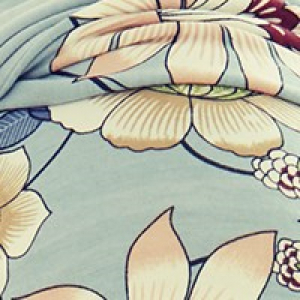 SHAKTI turban - Oriental Flowers, vascoza din bambus, Primavara/Vara2