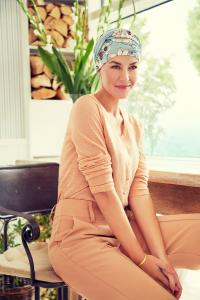 SHAKTI turban, Oriental Flowers0